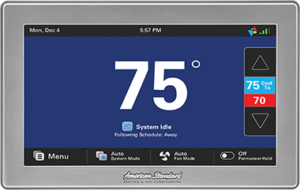 American Standard WiFi Thermostat