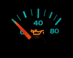 oil pressure gauge for a car