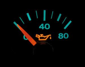 oil pressure gauge for a car